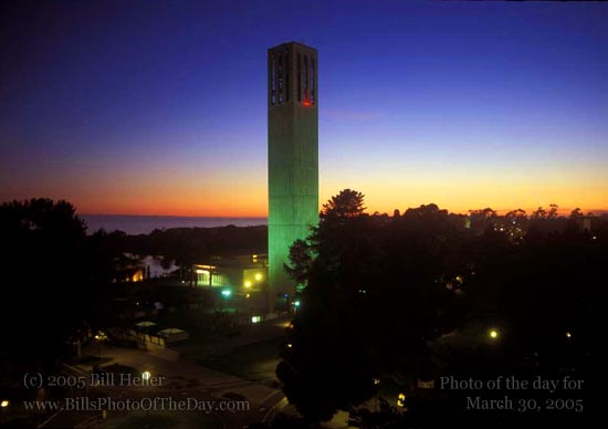 Storke Tower, Bell Tower at UC, Santa Barbara