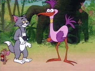Tom and Jerry - Hold that Pose still - Pip Squak Bird