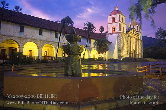 "Mission Santa Barbara ""Queen of the Missions"""