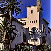 Santa Barbara Courthouse Palms