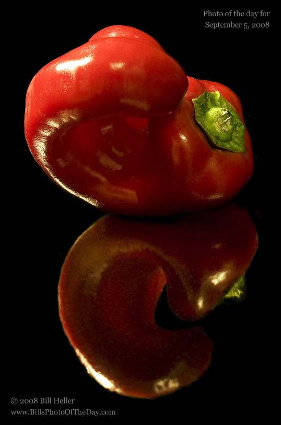 Red Pepper from the Farmers' Market