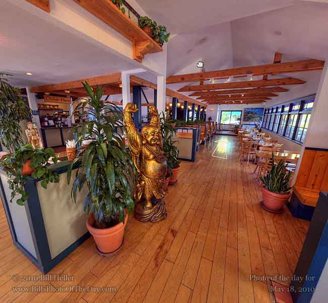 Virtual tour of The Natural Cafe on Hitchcock in Santa Barbara, California