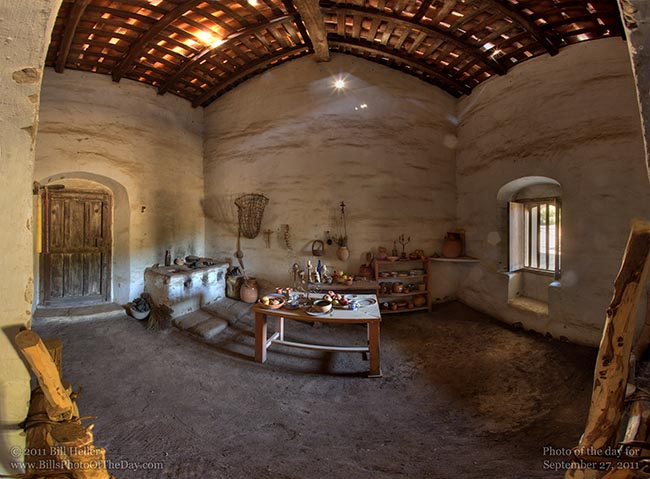La Purisima Mission Kitchen