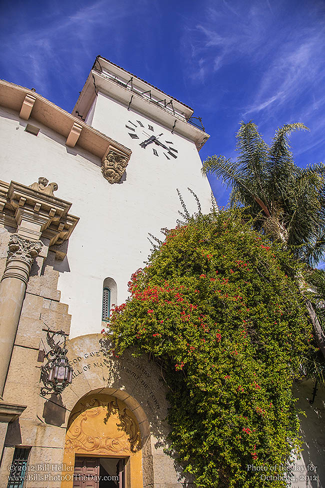Santa Barbara County Courthouse Clocktower