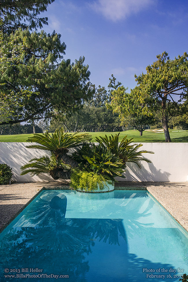 View from a home in a Montecito Country club