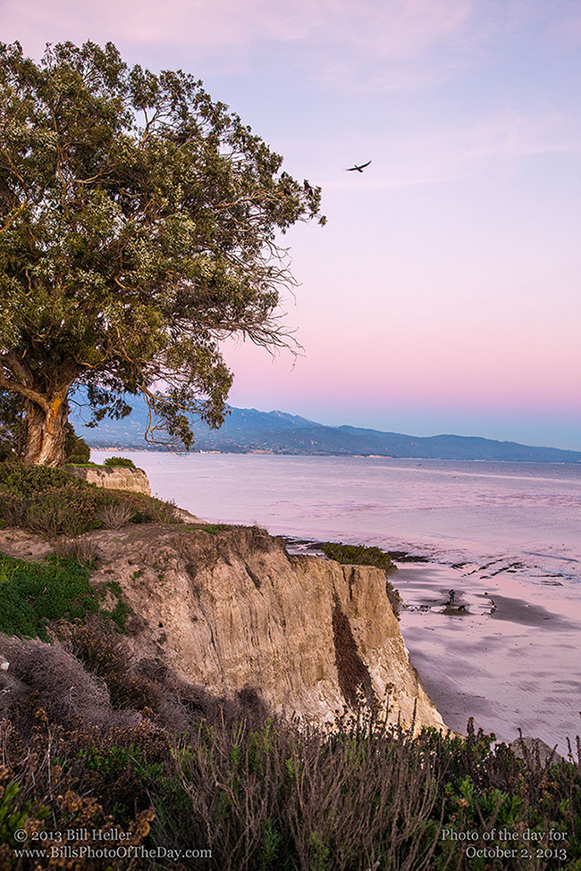 View from Shoreline Park in Santa Barbara, California