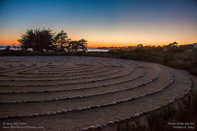 Labyrinth at the Lagoon, University of California, Santa Barbara