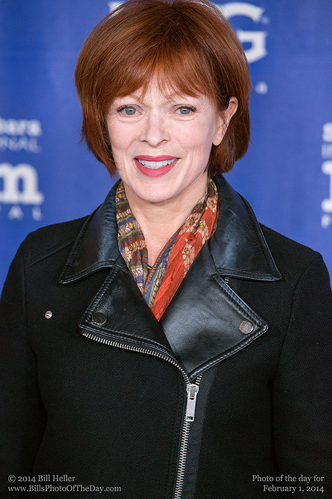 Actress Frances Fisher Walking the Red Carpet at the Santa Barbara International Film Festival