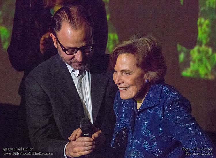 Sylvia Earle and Fisher Stevens Introducing Mission Blue
