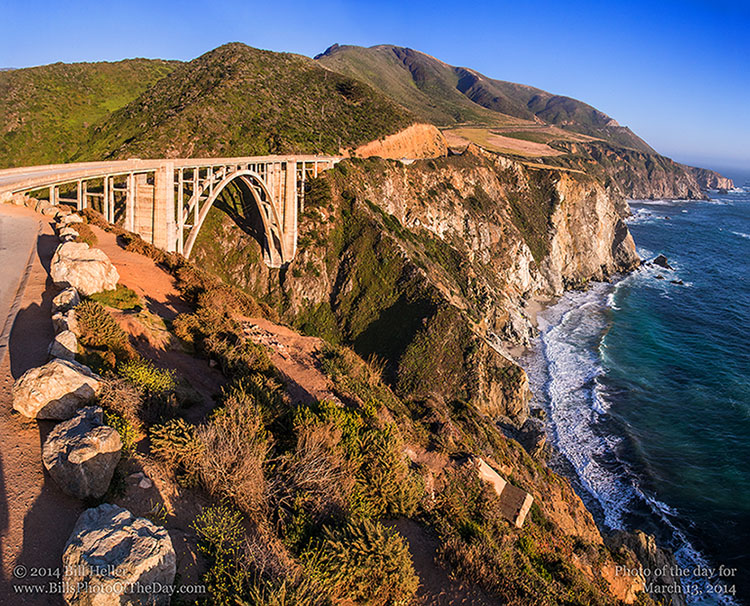 Bixby Bridge and PCH Coastline, Big Sur, California