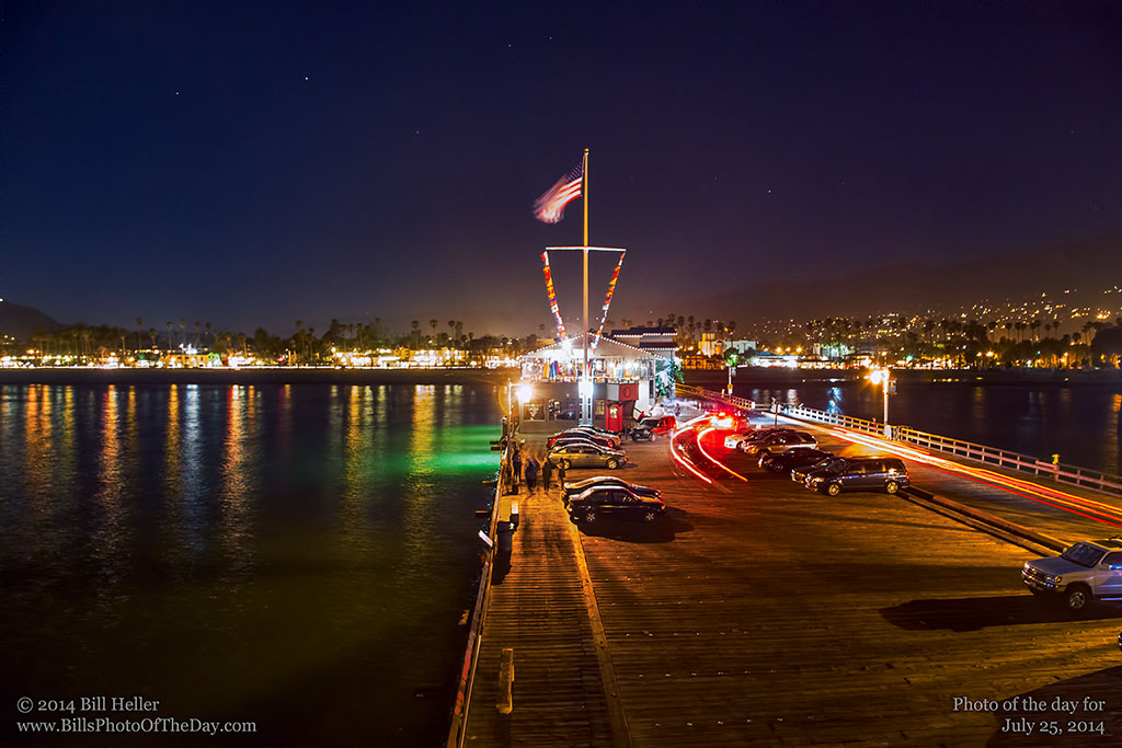 Evening Over Stearns Wharf