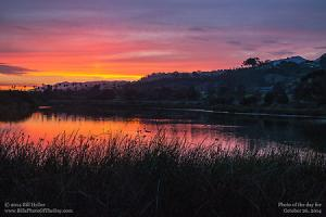 Sunday, October 26, 2014 - Andree Clark Sunset Reflections