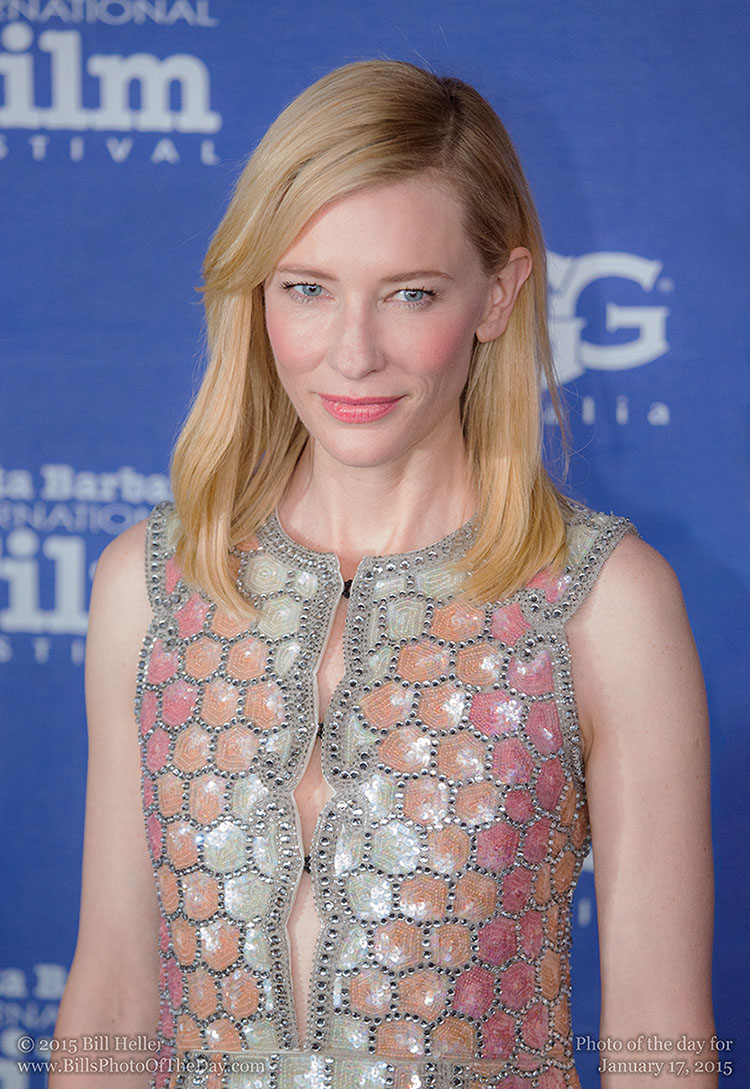 Cate Blanchett, Outstanding Performer of the Year at the Santa Barbara International Film Festival.