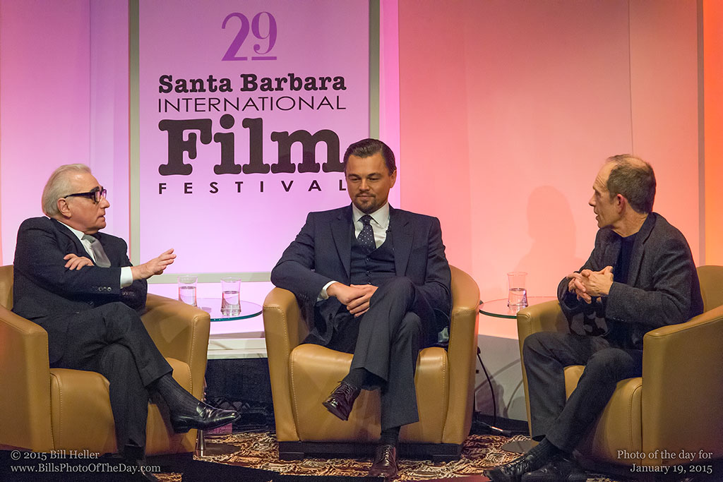 Martin Scorsese and Leonardo DiCaprio interviewed at the 29th Santa Barbara International Film Festival