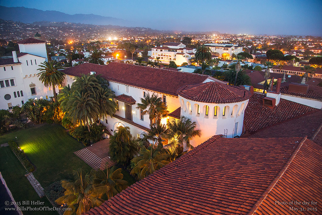 Twilight Over Santa Barbara