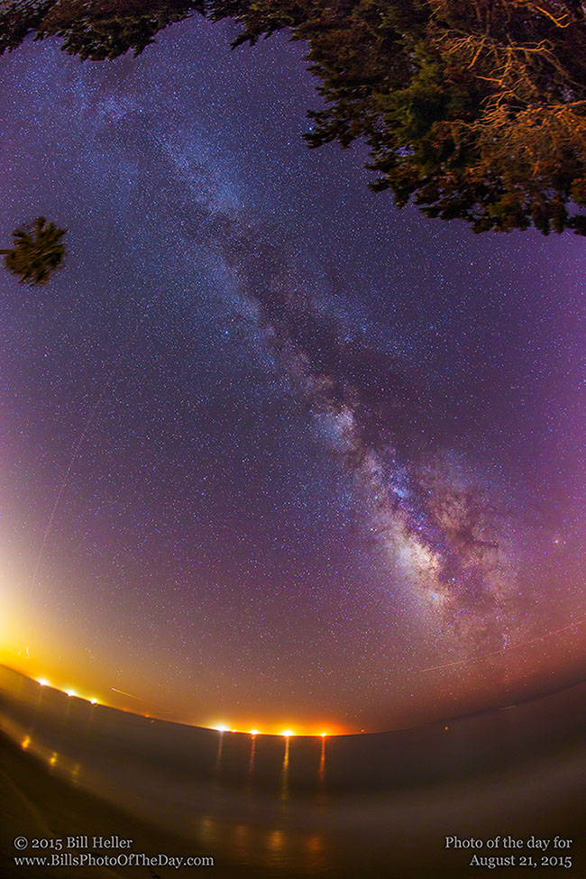 Butterfly Beach Milky Way
