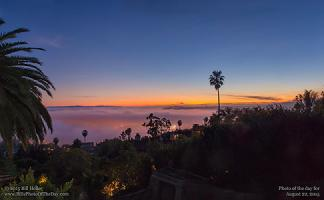 Saturday, August 22, 2015 - Santa Barbara Twilight Glow