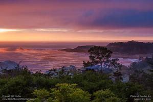 Sunday, August 23, 2015 - Carmel Highlands Sunset Mist