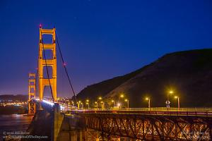 Saturday, June 25, 2016 - Golden Gate Twilight