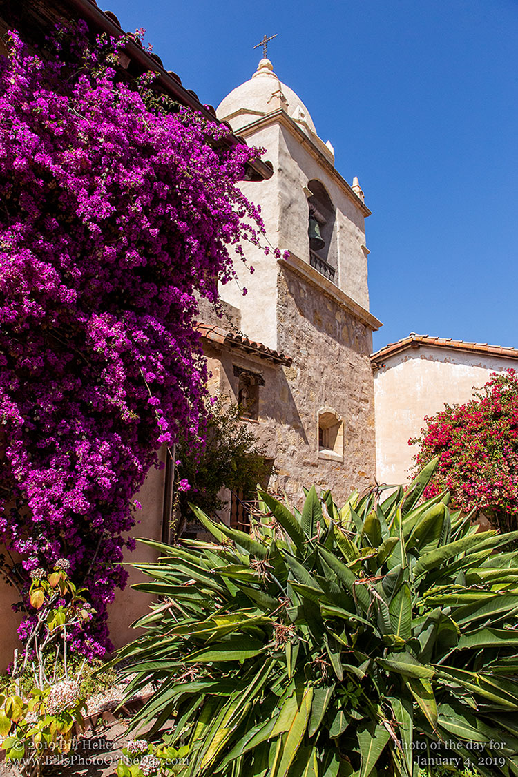 Carmel Mission [Mission San Carlos Borrom�o del r�o Carmelo] in Carmel by the Sea, California