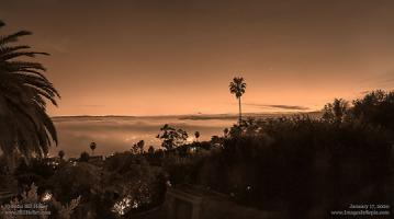 Friday, January 17, 2020 - Santa Barbara Twilight Glow Sepia